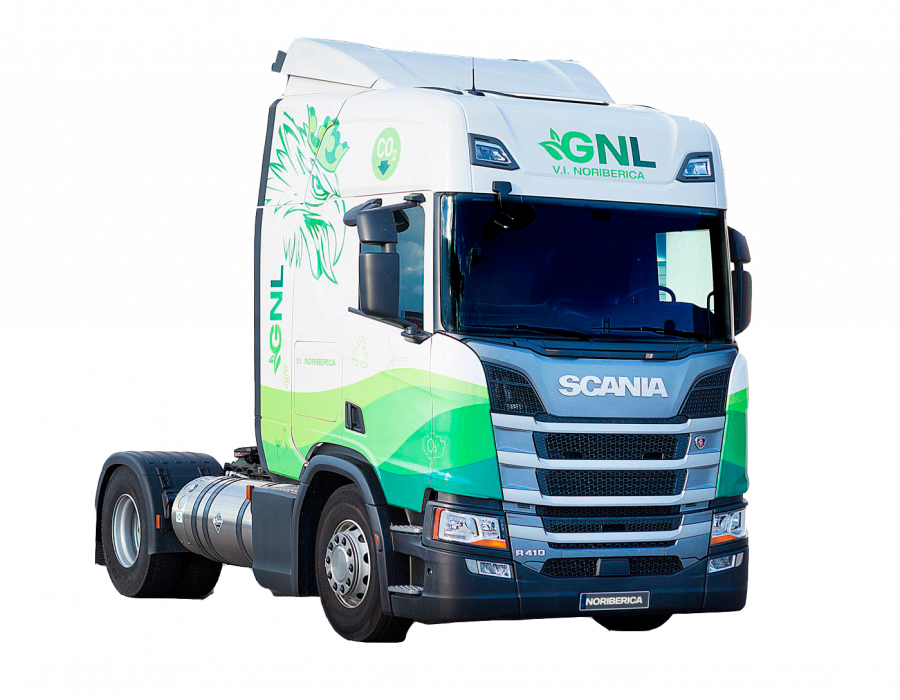 camion a gas